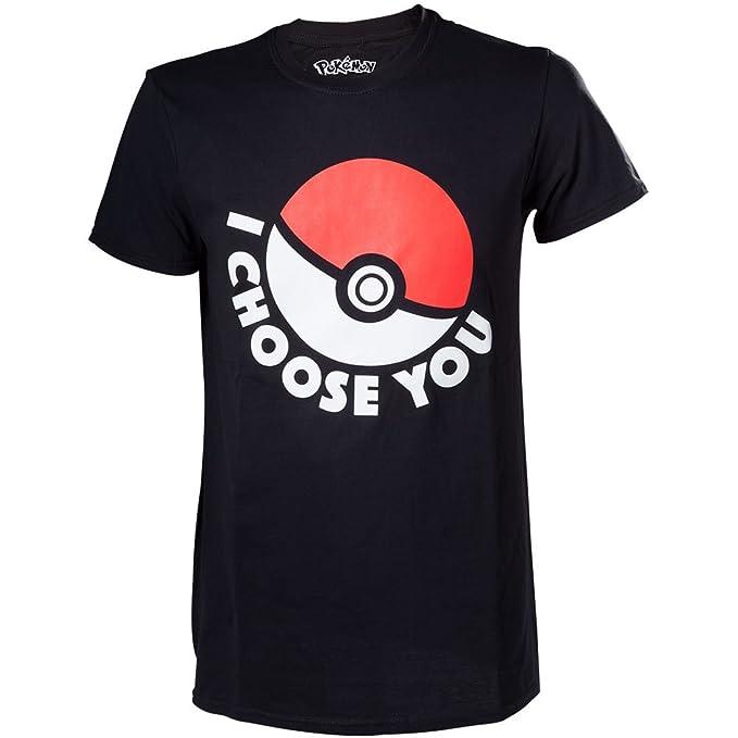 Bio - Camiseta Negra Pokemon Pokeball S
