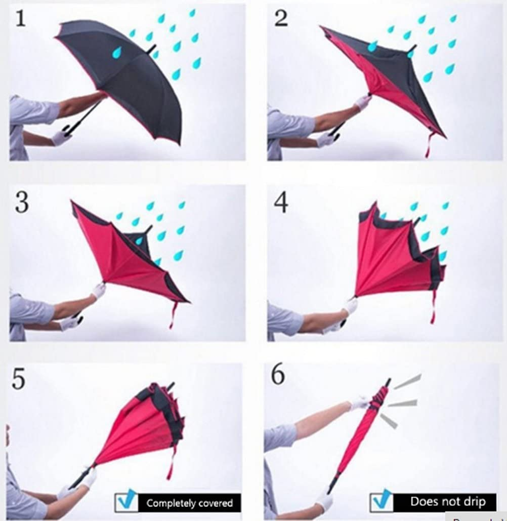 Double Layer Inverted Inverted Umbrella Is Light And Sturdy Asian Balls Seamless Tile Pine Trees Reverse Umbrella And Windproof Umbrella Edge Night R