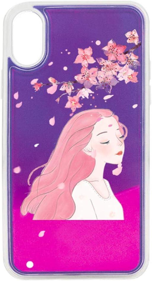 ZY Carcasas para móvil para iPhone X, XR, XS, Etc. Estuche para Teléfono Móvil Night Glow Disponible En Una Variedad De Colores Y Modelos: Amazon.es: Jardín