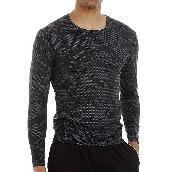 Pullover Herren Langarm Fitness, Holeider Sport Bluse Herren