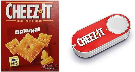 Amazon.com: Cheez-It Baked Snack Cheese Crackers, Original ...