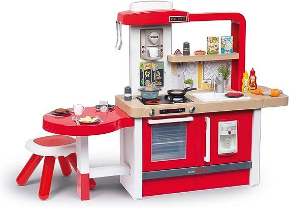Smoby- Cocina juguete evolutiva, Color rojo (312301) , color ...