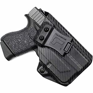 2. Glock 43 w/TLR-6 Holster – Tulster IWB Profile Holster
