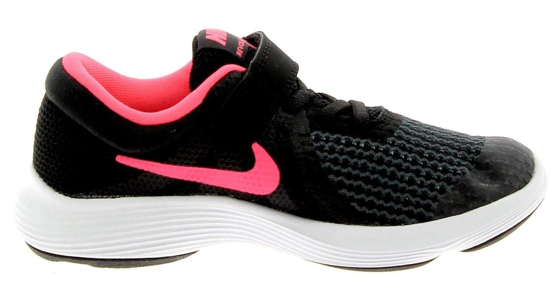 Nike Kids Revolution 4 (PSV) Black Racer Pink White Size 10.5 by Nike (Image #3)