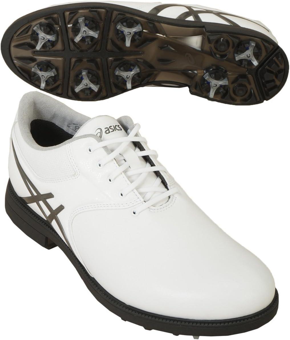 asics(アシックス) ゲルエース レジェンドマスター2 ゴルフシューズ  TGN918 ホワイト/ガンメタル 27.5cm