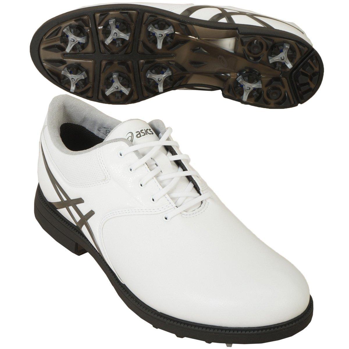 asics(アシックス) ゲルエース レジェンドマスター2 ゴルフシューズ  TGN918 ホワイト/ガンメタル 25.5cm