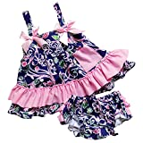 So Sydney Baby Toddler 2 Pc Tank Swing Top and