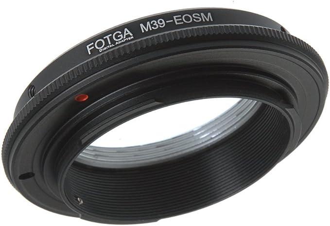 FocusFoto FOTGA Adapter Ring for Pentax PK K Lens to Canon EOS EF-M Mount Mirrorless Camera Body M1 M2 M3 M5 M6 M10 M50 M100
