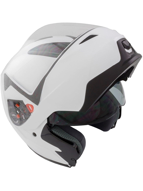 GSB Flip Up DVS Motorcycle Scooter G-339 Racing Road Helmet Matt Black L