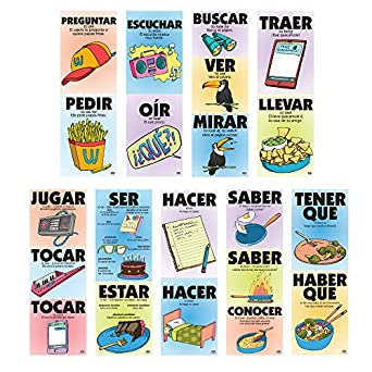 Vexing Verbs Spanish Poster Set (9 Posters)