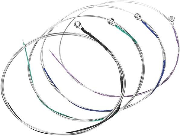Oferta amazon: Dilwe Juego de Cuerdas Viola, Cuerdas de Viola Profesional Juego de 4 AD G C para Viola de Tamaño Completo