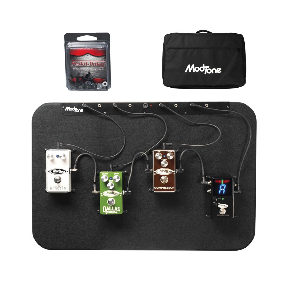 ModTone Guitar Effects MT-COUNTRY Ready Board 4 Hard Mounted Pedals For Country Music