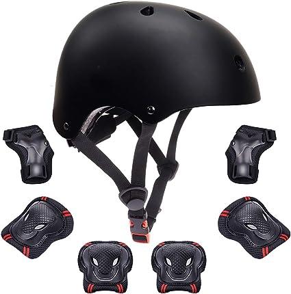 Children/'s Multi-Sport Camo Helmet For Girls//Boys Skiing Scooting Cycling