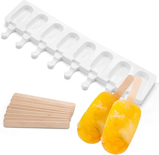 1Pcs Silicone Push Up Frozen Ice Cream Pop Yogurt Jelly Lolly Maker Mould Tools