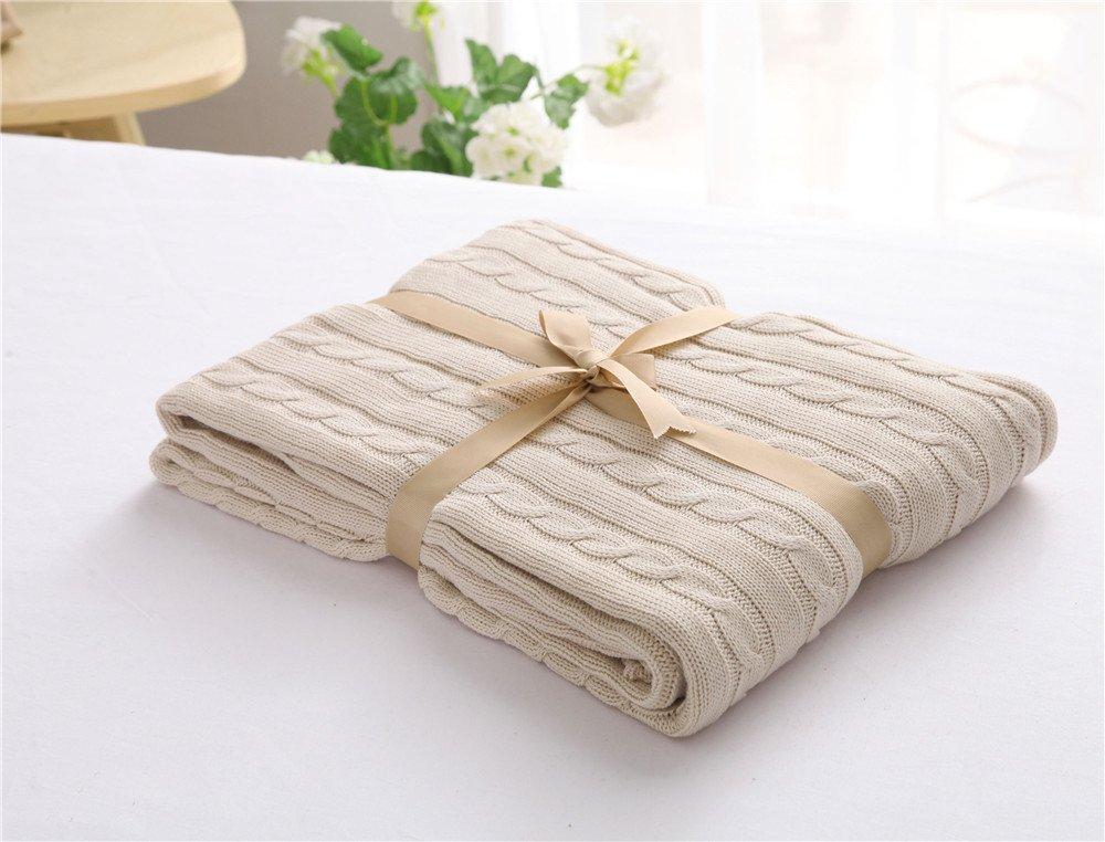 Home suave algodón de punto bebé dormitorio aire acondicionado de ...