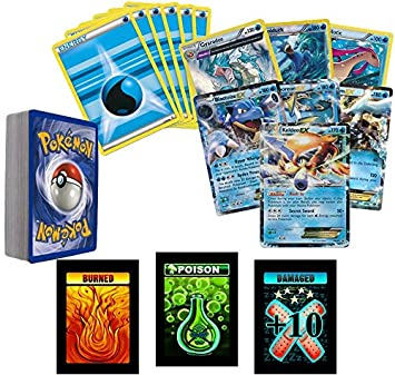 amazon com 30 assorted pokemon card pack lot all water type