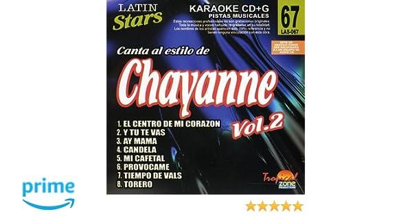 Chayanne - Karaoke: Chayanne, Vol. 2: Latin Stars Karaoke - Amazon.com Music