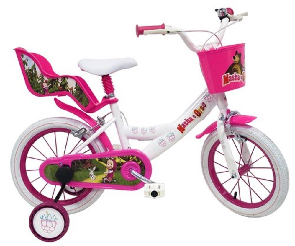 Fahrrad 16 Masha und Bär Mädchen 6 – 9 Jahre Welt neue 25306...
