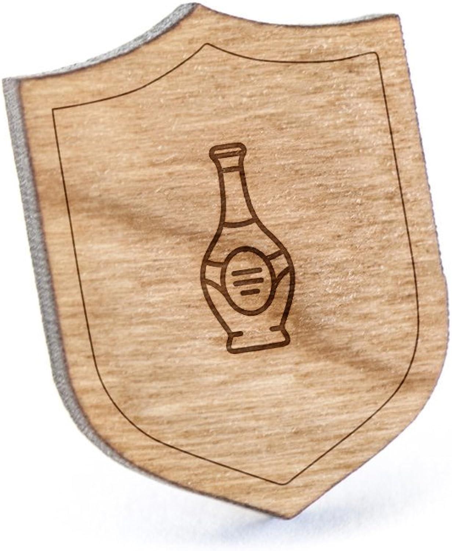 Rum Lapel Pin Wooden Pin