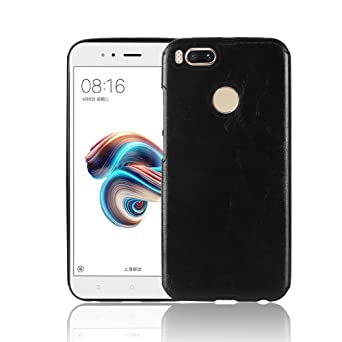Spak Xiaomi Mi 5 X,Xiaomi Mi A1 Case,Premium Pu Leather+Tpu Cover For Xiaomi Mi 5 X,Xiaomi Mi A1 (Black) by Spak Tech