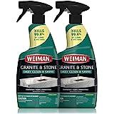 Weiman Disinfectant Granite Daily Clean & Shine - (2 Pack) Safely Clean Disinfect and Shine Granite Marble Soapstone Quartz Q