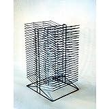 Sax All-Steel Double Sided Wire Drying Rack - Black Enamel - 30 X 17 X 20 inch