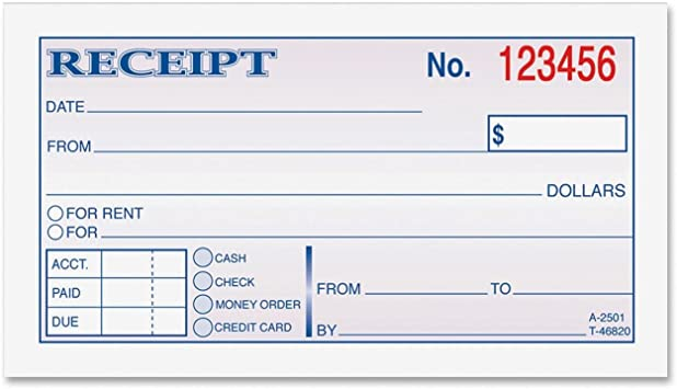 This is an image of Printable Rent Receipt Template with vacation rental