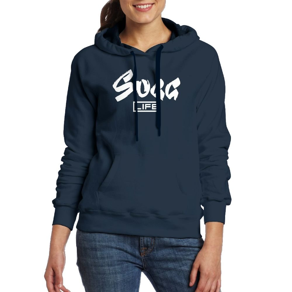 Guangchn GN SUGGLIFE Logo Youth Women's Casual Top Pullover Fashion Hoodie Sweatshirt