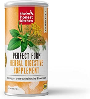 product image for The Honest Kitchen Perfect Form Supplement - Natural Human Grade Digestive Supplement for Dogs & Cats 5.5 oz