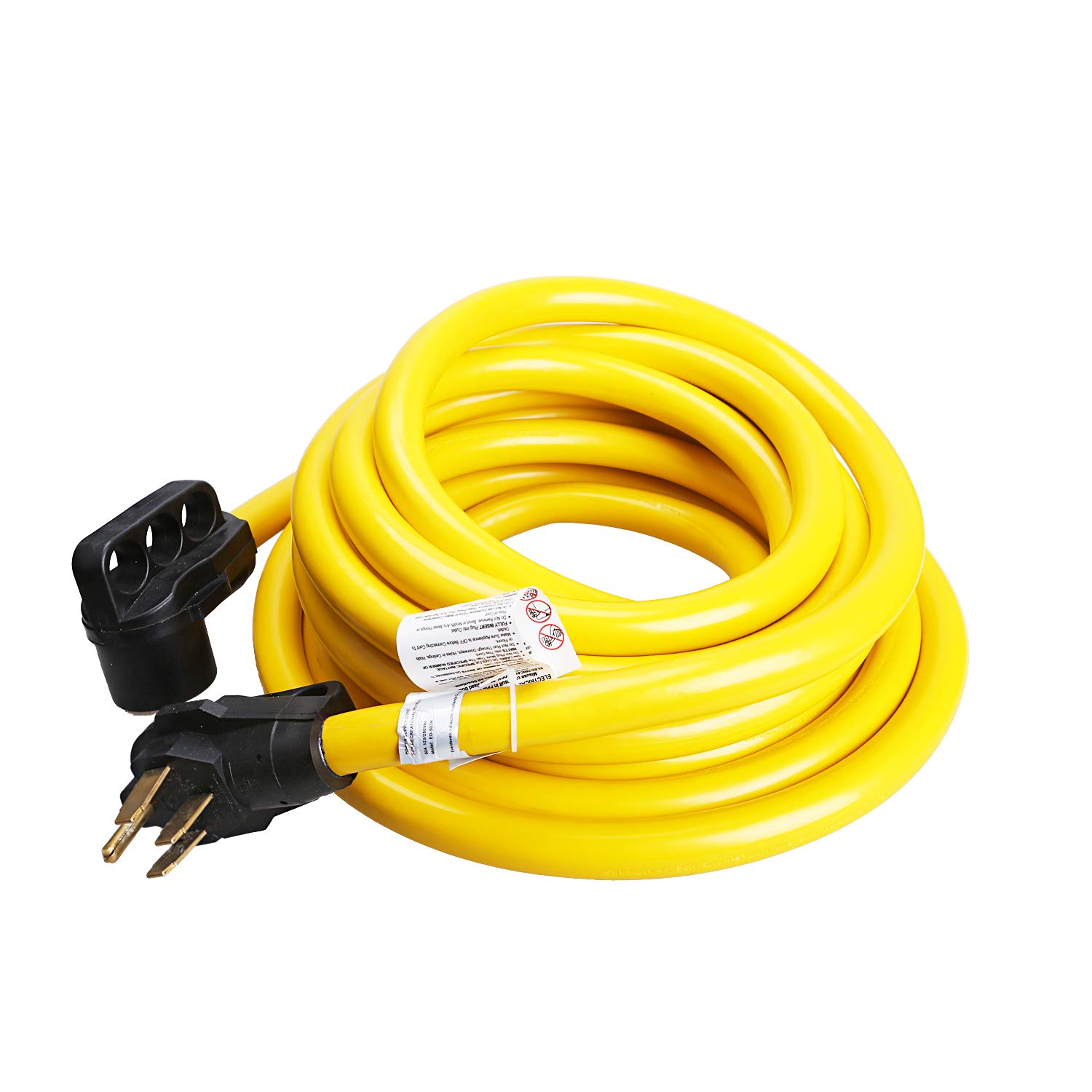 RV 30 Ft 50 Amps RV Power Extension Cord with Grip Handle