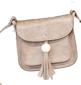 e6865b9f56dd9 Kawei Damen Umhänge Ledertasche Elegant Einzigartig Schultertasche Weich  Ultraleicht Messenger Bag Komfortabel Grosse Kapazität Kuriertaschen (
