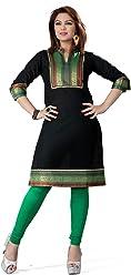 Unifiedclothes Women Fashion Printed Short Indian Kurti Tunic Kurta Top Shirt Dress EX01A