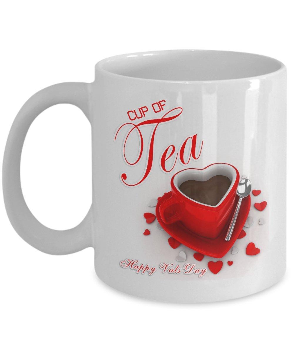 【あす楽対応】 Cup Valの日 of Tea Happy 11oz Valの日 – コーヒーマグ Season – お茶とチョコレートマグ – Makes Greatギフト&オフィスパーティーギフトfor the Holiday Season 11oz 11oz ホワイト B01NCOBC4I, 仁賀保町:29a05dc6 --- movellplanejado.com.br