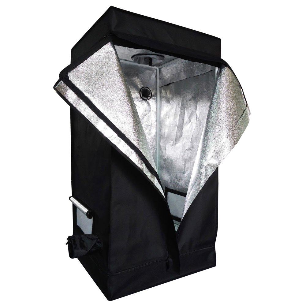 Oshion 24''x 24''x 48'' Indoor Mylar Hydroponics Grow Tent Room