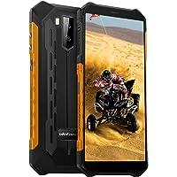 Ulefone Armor X5 (2020) 4G Android 10 mobiele telefoons, 32GB geheugen 3GB RAM 5000mAh batterij Smart Button waterdichte camera, onderwatermodus, handschoenmodus, 5,5 inch, Face WiFi GPS FM Oranje