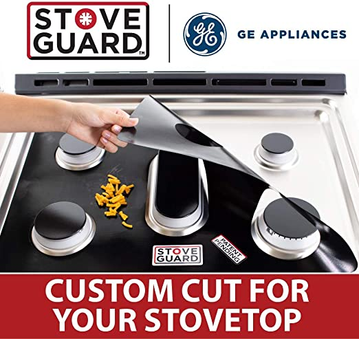 GE Stove Protector Liners Easy Cleaning Stove Liners for GE Model JGSS66SEL1SS Stove Top Protector for GE Gas Ranges Customized