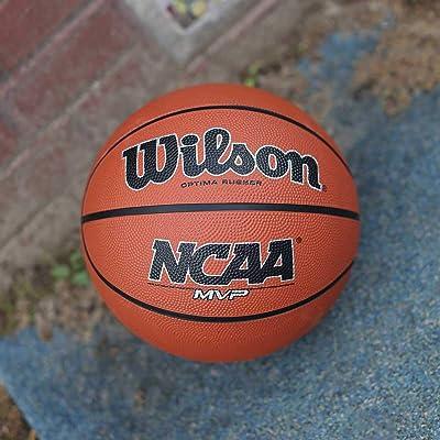 Size 7 Wilson MVP Elite All Surface Cover Basketball Ball Purple//Black