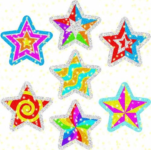 Stars Stickers Dazzle (Carson Dellosa Star Power Dazzle Stickers (2826))