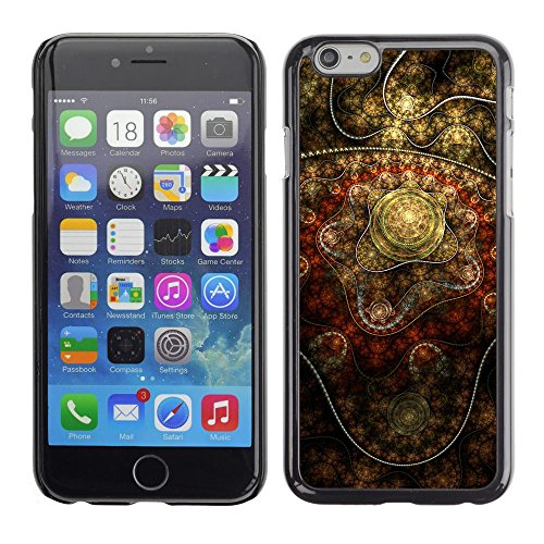 Abstract Indian Art Golden Apple iPhone 7 (4.7 inchesHard Printing Protective Cover Protector Sleeve Shell Case Cover