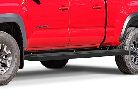 Nerf Bars | Side Steps | Step Bars APS iBoard Running Boards Black Powder Coated 5 inches for 2005-2019 Toyota Tacoma Double//Crew Cab Pickup 4-Door |