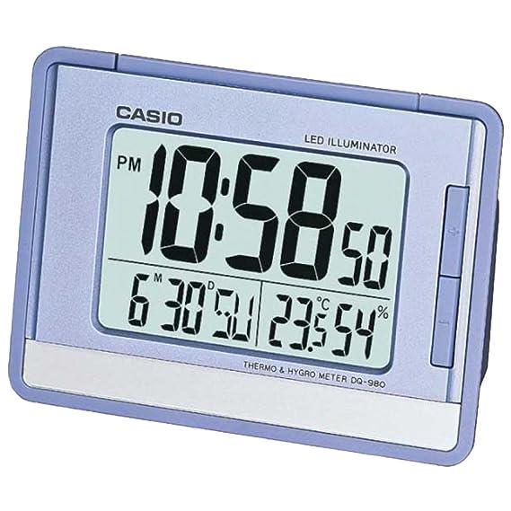 Casio Reloj Despertador Dq-980-2D