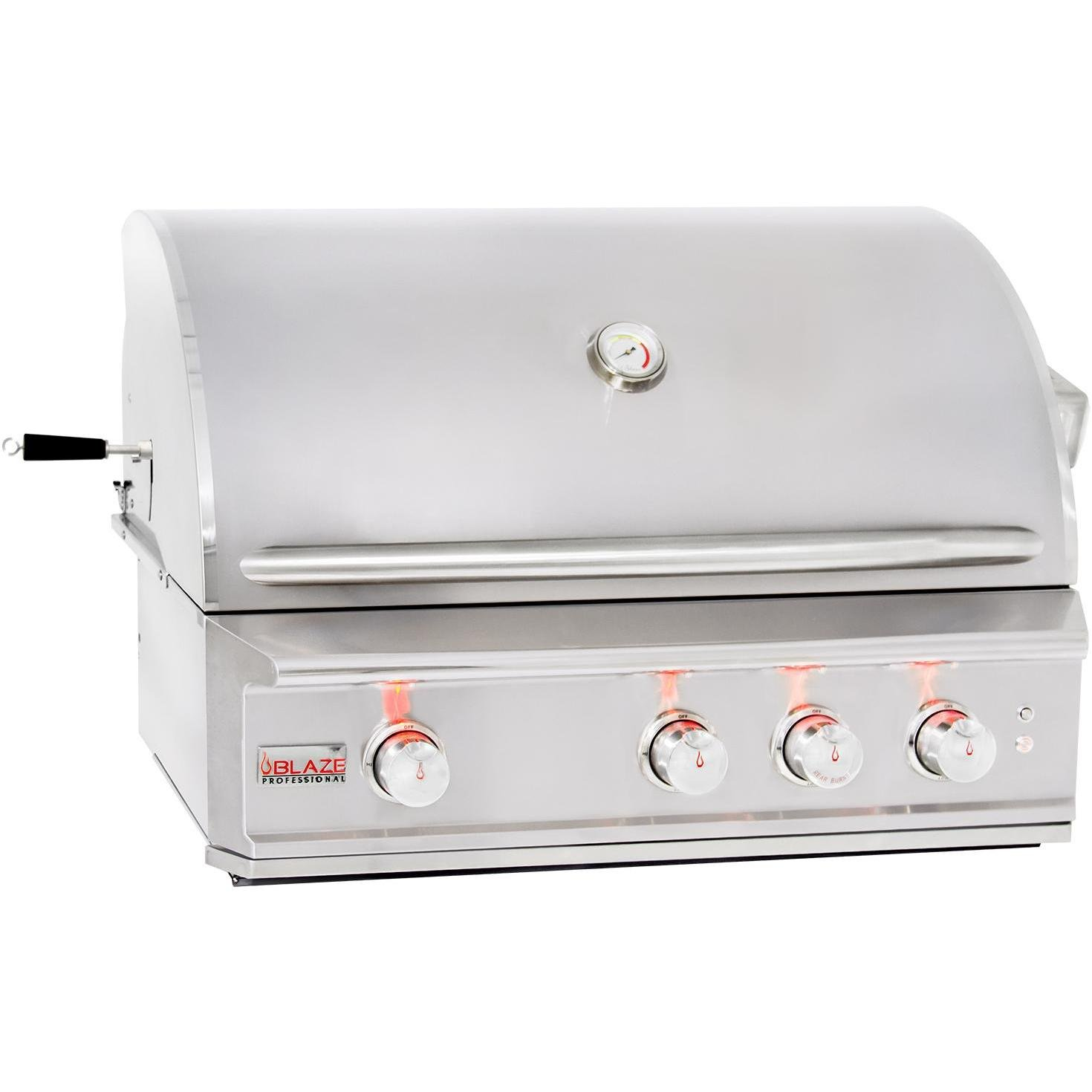 34'' Professional Grill with 3 Burners Fuel Type: Propane
