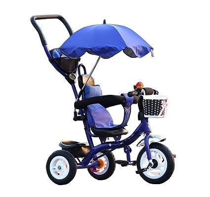 QWM-Las bicicletas infantiles para bebés Niños Carros de triciclo Carritos de bebé Niño Bicicletas 3 ruedas ...