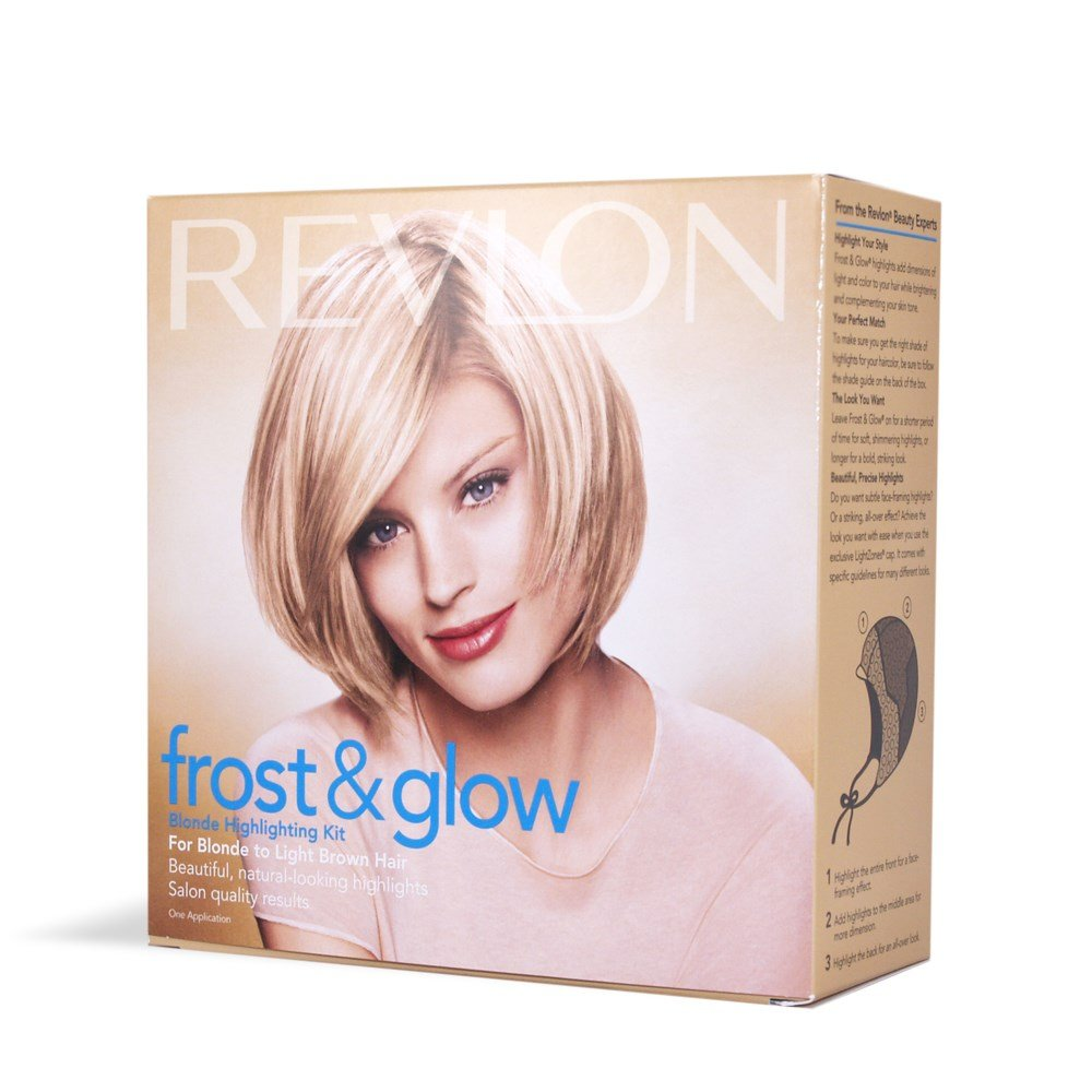 Amazon Revlon Frost Glow Blonde Highlighting Kit For Blonde