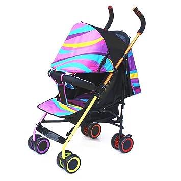Qian Cochecito del coche paraguas puede sentarse mentira simple choque portátil plegable puede estar carro