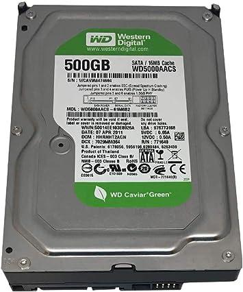 CCTV DVR, PC Western Digital WD AV-GP 500GB 32MB Cache SATA 3.0Gb//s 3.5inch