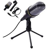 LipiWorld® Studio Recording Microphone Mic & Tripod Stand for Laptop PC Skype(Multimedia Big Mic)