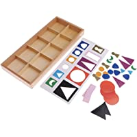 MagiDeal Montessori Basic Wooden Grammar Symbols with Box Kids Early Educational Toy