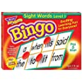 Sight Words Bingo - Language Building Skill Game for Home or Classroom (T6064), Build Vocabulary with 46 Most-Used Words, 3 -
