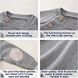 pureborn Baby Cotton Knit Solid Pullover Sweater